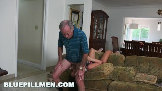 Preview 2 of BLUEPILLMEN - Grandpa Frankie Is A Fast Learner! (bpm14828)