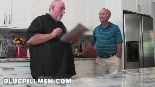 Preview 4 of BLUEPILLMEN - Grandpa Frankie Is A Fast Learner! (bpm14828)