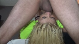Busty Slut Nicole Rossi Gets A Brutal Gagging Throat Fuck Before A Festival