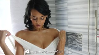 Preview 2 of PASSION-HD Dripping wet Janice Griffith fucked with chest full of cum