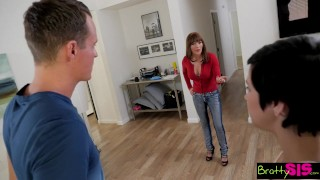 Preview 1 of BrattySis - Little Step Sis Loves It Rough
