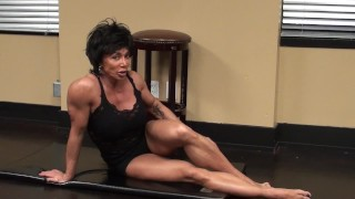 Preview 2 of Fitness Redhead Chick Tramples FBB Martial Artist Expert