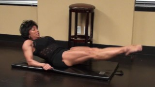 Preview 4 of Fitness Redhead Chick Tramples FBB Martial Artist Expert