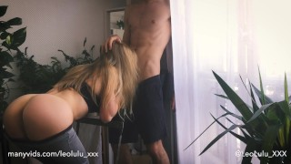 Preview 4 of Fit Teen Fucked By Big Dick - Amateur couple LeoLulu
