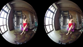 Preview 5 of Erotic compilation of gorgeous amateur girls teasing in VR