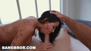 Preview 3 of BANGBROS - Sexy MILF Lela Star Fucks Step Son Before Gym in POV