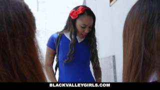 Preview 2 of BlackValleyGirls - Bubble Butt Ebony Steals Teens BF