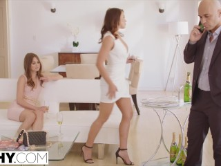 Preview 3 of TUSHY Riley Reid and Adriana Chechik anal gapes