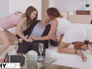 Preview 5 of TUSHY Riley Reid and Adriana Chechik anal gapes