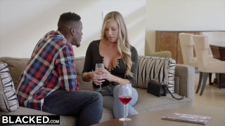 Preview 3 of BLACKED Samantha Saint Cheats with BBC