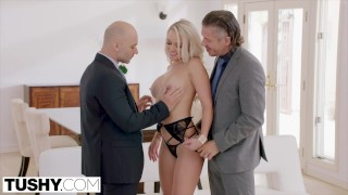 Preview 3 of TUSHY Alexis intense anal double penetration
