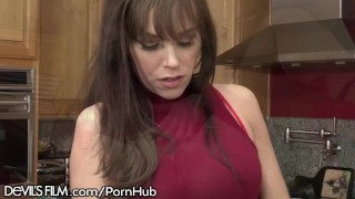 Preview 2 of Horny Cougar Caught Squirting by Young Music Teacher