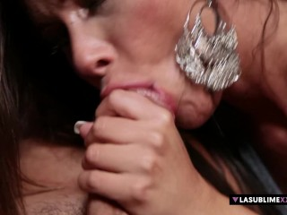 Preview 6 of LaSublimeXXX MILF Aurora Oliveira obsessed for Anal sex