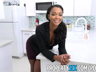 Preview 2 of PropertySex - Hot property manager fucks pissed off tenant