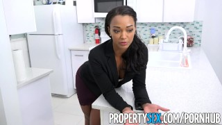 Preview 1 of PropertySex - Hot property manager fucks pissed off tenant