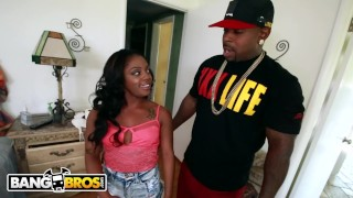 Preview 1 of BANGBROS - Rap, Suck and Fuck with Ebony Pornstar Tamra Millan