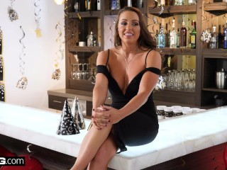 Preview 1 of BANG Confessions - Abigail Mac fucks in front of friends for New Year's