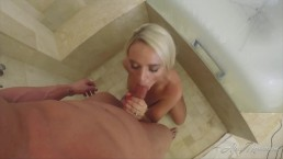Blowjob cum in my mouth - Alexis Monroe