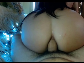 Preview 5 of Hot sexy big boobs and ass milf likes deep throat big cock blowjob & anal