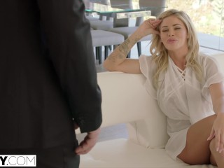 Preview 3 of TUSHY Jessa Rhodes Intense and Hot Anal With Driver
