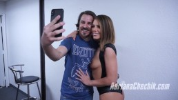 Adriana Chechik's Fan Blowbang Behind the Scenes from 2017-12-11.