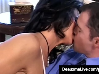 Preview 1 of Big Boobed Cougar Deauxma Gets Anal Banged By Horny Hard Fan