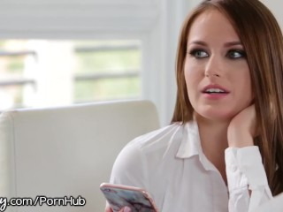 Preview 3 of Bratty Student Eats Out Stunning Tutor Eva Lovia
