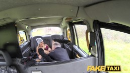 Fake Taxi Mature busty milf licks arse and empties big balls