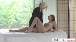 Babes - Ally Breelsen and Lena Love - Spa Afternoon