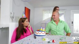 Pure18 - Carolina Sweets Blowing Her Big Birthday Cock