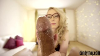 Preview 4 of Candy May - Edging BBC / Handjob