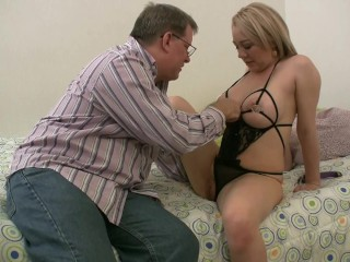 Preview 4 of Seducing My Stepfather With Sexy Lingerie