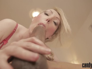Preview 3 of Candy May - HUGE BBC BLOWJOB AND COWGIRL