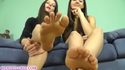Ceara Lynch and Mandy Flores - Sniff Our Feet, Bitch.