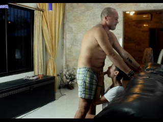 Preview 3 of Neighbours fuck stepdaughter while mom watch TV