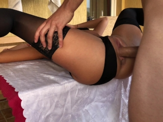 Preview 6 of Public Balcony Anal Fuck. HD