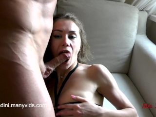 Preview 4 of Real female orgasm and passionate fuck with anal, cum in mouth. Mia Bandini