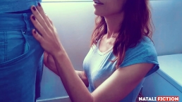 Blowjob and smoke in the morning with cum in her mouth - Natali Fiction