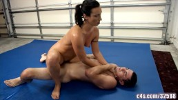 sex fight wrestling