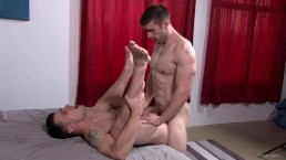 Straight Army Friends Can't Get Enough Big Dick Bareback