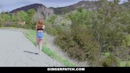 GingerPatch - Ginger Bombshell Pounded A Stranger with Big Cock