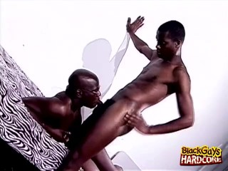 Preview 1 of 4some Black Guys End With Cumshots