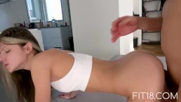 Fit18 - Gina Gerson - 40kg - 160cm - Skinny Little Girl Fucked