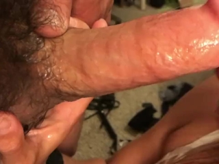 Preview 4 of Pussy so good he cums twice!! Deep throat, doggy, cowgirl