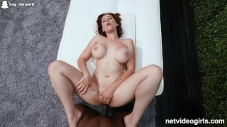 Preview 5 of Big Titty MILF Rides Black Guy Until He Cum Inside Of Her