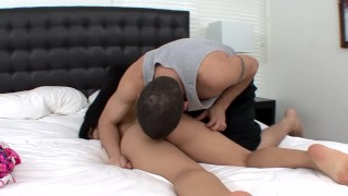 Preview 3 of Thick petite Latina Selena Rios wrecked by a big cock