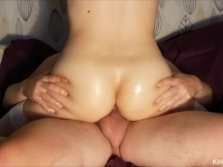 Preview 4 of Fucking a squirting, cum-filled 19-y/o pussy