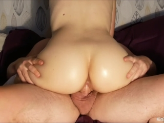 Preview 5 of Fucking a squirting, cum-filled 19-y/o pussy