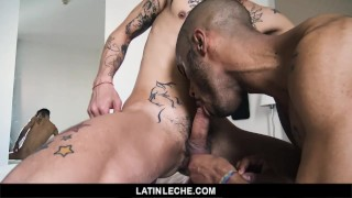 LatinLeche - Two Lovebirds Meet in Montevideo and Fuck Raw