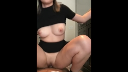 my sexy Japanese neighbor lets me fuck